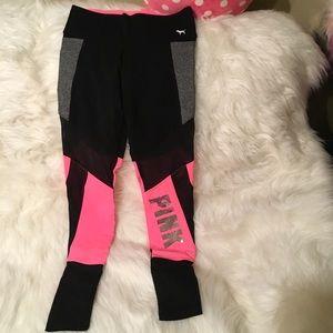 Pink leggings NWOT